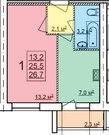 Новая квартира с индивидуальным отоплением в п.Щедрино от подрядчика, Купить квартиру в новостройке от застройщика в Ярославле, ID объекта - 324830580 - Фото 28