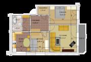 Продажа 3х-комн. квартиры 66м2 уп. пр.Декабристов 27, Купить квартиру в Перми по недорогой цене, ID объекта - 326268826 - Фото 28
