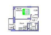 Квартира в ЖК Весенний, Подольск