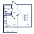 Продается 1 комнатная квартира в ЖК Новогорелово - Фото 1