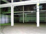 Под склад, раб. сост, отаплив, выс. потолка 9 м, охрана.