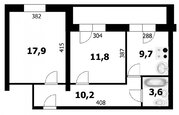 Продажа квартиры, Бердск, Северный микрорайон, Купить квартиру в Бердске, ID объекта - 333840795 - Фото 12