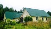 Дом на хуторе с удобствами, баня, гараж, хозяйство, 1 гектар земли - Фото 1