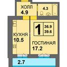"1-к. квартира в ЖК ""Дадаевский"""