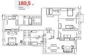 129 900 000 Руб., Barrin House - шестикомнатная кв-ра с ремонтом, 181 кв.м, 6/12 эт., Продажа квартир в Москве, ID объекта - 332246686 - Фото 10