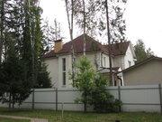 Готовый коттедж, гараж, лес, Минское шоссе, центральн. коммун, охрана - Фото 1