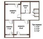 Продаю 4хкомнатную квартиру рядом с метро, Купить квартиру в Санкт-Петербурге по недорогой цене, ID объекта - 321626198 - Фото 3