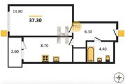 Продажа квартиры, Пенза, Ул. Антонова, Купить квартиру в Пензе по недорогой цене, ID объекта - 326427265 - Фото 2