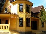 Новый дом в селе Купанское в соснах на берегу реки - Фото 1
