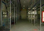 Сдается отапливаемое складское помещение 1000м2