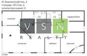 3 500 000 $, Продается квартира г.Москва, Малый Козихинский переулок, Купить квартиру в Москве по недорогой цене, ID объекта - 320733741 - Фото 4