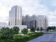 2-комнатная квартира в новом строящемся доме 58,57 кв.м., Купить квартиру в Белгороде по недорогой цене, ID объекта - 317368935 - Фото 1