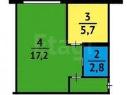 Продажа однокомнатной квартиры на Пролетарской улице, 6 в Кемерово, Купить квартиру в Кемерово по недорогой цене, ID объекта - 319828727 - Фото 1