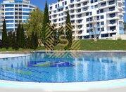 Квартира свободной планировки с видом на море в новом доме в Гурзуфе