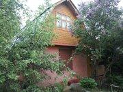 Двухэтажный теплый дом на участке 8 соток, Романцево г.о. Подольск - Фото 1