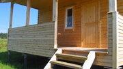 Брусовой дом 60кв.м. на участке 38 соток в д.Скрипово, Заокский р-он - Фото 4