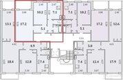 Квартира, Мурманск, Героев Рыбачьего, Купить квартиру в Мурманске по недорогой цене, ID объекта - 320966824 - Фото 14