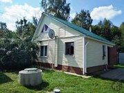 Зимний дом бревно+сайдинг 72 кв.м. 2008 г. СНТ Воговец г. Подольск - Фото 2