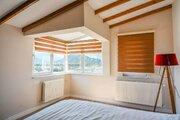 Шикарная двухуровневая квартира 4+2 (6 комнат) с видом на горы и море, Купить квартиру Анталья, Турция по недорогой цене, ID объекта - 329303430 - Фото 12