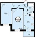 Владимир, Северная ул, д.2а к1, 2-комнатная квартира на продажу