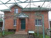 Продается дом п. Березовый ст. Витаминовец, 2018 г.п. кирп. 1.5 эт. - Фото 1