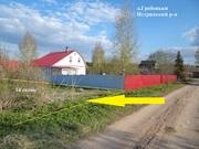 Участок 14 сот. ИЖС в деревне Гребеньки Истринский р-н - Фото 1
