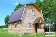 Дом на участке 15 соток рядом с Рузским водохранилищем д.Бражниково