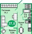 Продам 1-комн. квартиру, 1-й Заречный микрорайон, Муравленко, 1 - Фото 2
