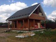 Дом, баня на участке 20 соток д.Новлянское 20 км от МКАД Каширское ш. - Фото 1