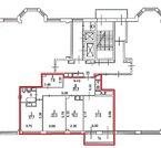 127 кв.м, 5эт, 1 секция., Купить квартиру в Москве по недорогой цене, ID объекта - 316334139 - Фото 4