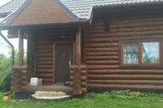 Продам дом из струганого бревна в д. Замленье Новгородского района - Фото 1