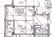 В новом доме 1-комнатная квартира 49 кв.м., Купить квартиру в Белгороде по недорогой цене, ID объекта - 317332442 - Фото 2