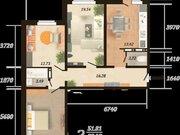 Продажа трехкомнатной квартиры на улице Карла Маркса, 43 в Курске, Купить квартиру в Курске по недорогой цене, ID объекта - 320007146 - Фото 1