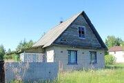 Дом в Псковская область, Гдовский район, д. Островцы (100.0 м) - Фото 1