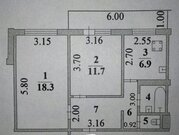 Меняем Липецк на Дачный, Обмен квартир в Липецке, ID объекта - 329389340 - Фото 2