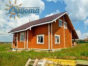 Продается дом в деревне с видом на озеро.