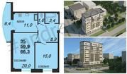 Современная квартира в новом жилом комплексе Ставрополя, Купить квартиру в новостройке от застройщика в Ставрополе, ID объекта - 316407121 - Фото 1
