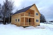 Новый дом 160 кв.м с отделкой и всеми коммуникациями в жилой деревне