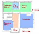 Жилой коттедж 180 м2 с отдельно стоящим гаражом в Дубовом - Фото 2