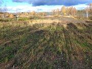 1-я линия от Озера Сенеж, участок в Солнечногорске мкр.Загорье-3 - Фото 1