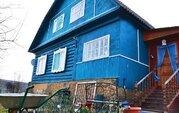 Бревенчатый дом в Егорьевском районе д.Полбино - Фото 1