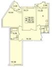 Продам 3к. квартиру. Просвещения пр-кт, д.43 А к.1-6