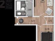 2 255 113 Руб., Продажа двухкомнатной квартиры в новостройке на Корейской улице, влд6а ., Купить квартиру в Воронеже по недорогой цене, ID объекта - 320575217 - Фото 1