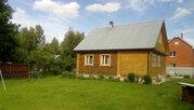 Продается зимняя дача из бревна с баней Верхнее пикалово Чехов - Фото 3