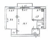 2-комнатная квартира в Волоколамске (жд станция в доступности), Продажа квартир в Волоколамске, ID объекта - 331004266 - Фото 10