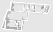 Продается 3-комнатная квартира общей площадью 83,8 кв.м. - Фото 3