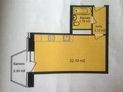 1-комнатная -студия , г.Апрелевка, ул.Жасминовая , д.6