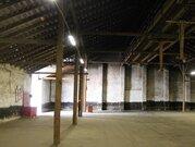 Неотапливаемый склад в одноэтажном капитальном строении, высота потолк