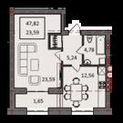 1-комнатная квартира в новостройке Бизнес-класса - Фото 2