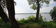 Участок на 1 береговой линии р. Волга, д. Плоски. - Фото 1